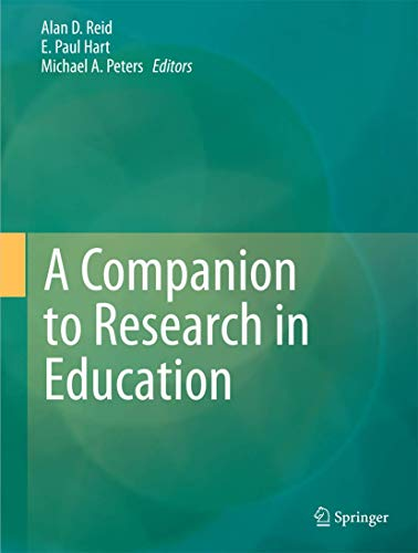 9789400768086: A Companion to Research in Education