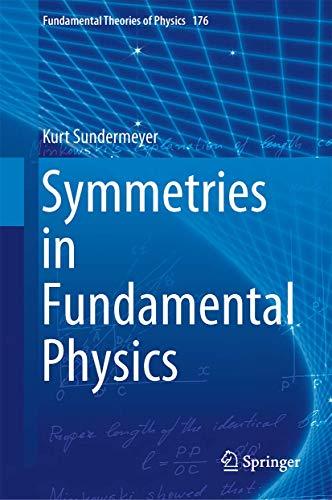 9789400776418: Symmetries in Fundamental Physics