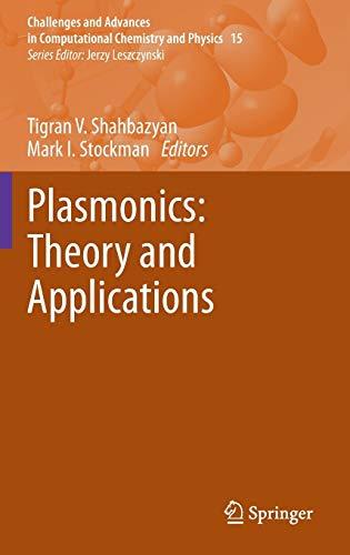 Plasmonics: Theory and Applications (Hardback)