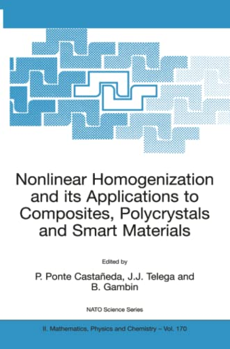 9789400789241: Nonlinear Homogenization and its Applications to Composites, Polycrystals and Smart Materials