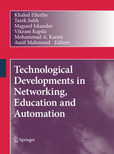 9789400789777: Technological Developments in Networking, Education and Automation