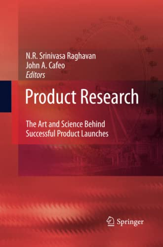 9789400791046: Product Research: The Art and Science Behind Successful Product Launches