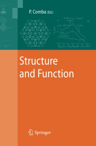 9789400791497: Structure and Function