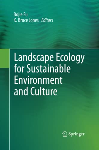 9789400793255: Landscape Ecology for Sustainable Environment and Culture