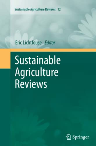 9789400793729: Sustainable Agriculture Reviews
