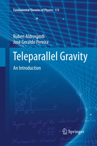 9789400796720: Teleparallel Gravity: An Introduction (Fundamental Theories of Physics)