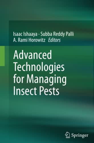 9789400798700: Advanced Technologies for Managing Insect Pests