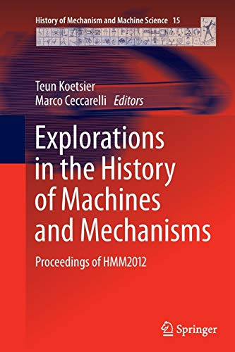 9789400799448: Explorations in the History of Machines and Mechanisms: Proceedings of HMM2012 (History of Mechanism and Machine Science)