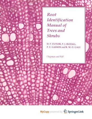 9789400931428: Root Identification Manual of Trees and Shrubs