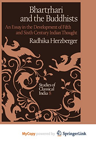 9789400946675: Bhartṛhari and the Buddhists: An Essay in the Development of Fifth and Sixth Century Indian Thought