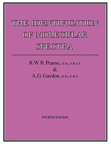 The Identification of Molecular Spectra (Paperback): A. G. Gaydon