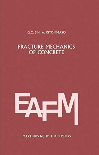 9789400961548: Fracture mechanics of concrete: Structural application and numerical calculation (Engineering Applications of Fracture Mechanics)