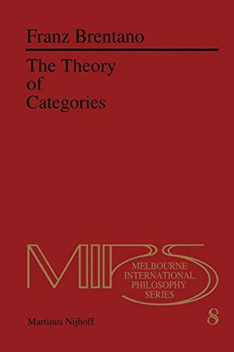 9789400981911: The Theory of Categories (Nijhoff International Philosophy Series)