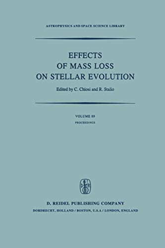 Effects of Mass Loss on Stellar Evolution: IAU Colloquium no. 59 Held in Miramare, Trieste, Italy, ...