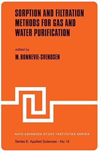 Sorption and Filtration Methods for Gas and Water Purification (Nato Science Series E:): Springer