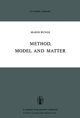 9789401025218: Method, Model and Matter (Synthese Library)
