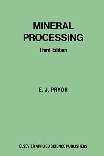 9789401029438: Mineral Processing