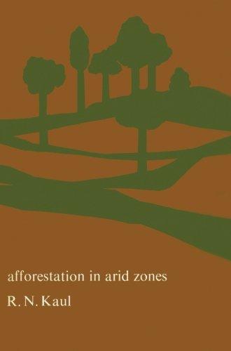 9789401033527: Afforestation in Arid Zones