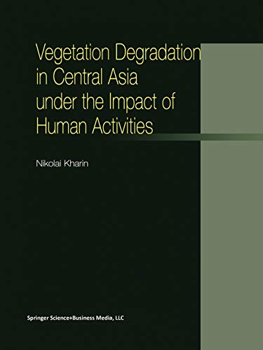 9789401038980: Vegetation Degradation in Central Asia under the Impact of Human Activities