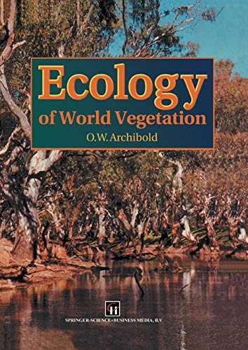 9789401040082: Ecology of World Vegetation