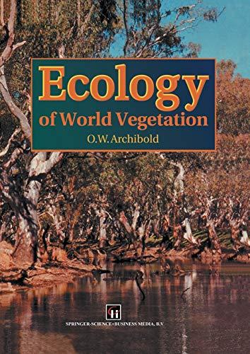 9789401040082: Ecology of World Vegetation