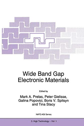 9789401040785: Wide Band Gap Electronic Materials (Nato Science Partnership Subseries: 3)