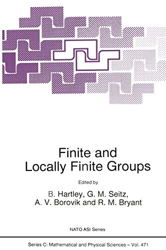 9789401041454: Finite and Locally Finite Groups (Nato Science Series C:)