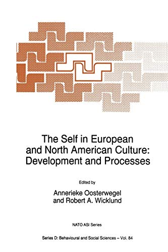 9789401041461: The Self in European and North American Culture: Development and Processes (Nato Science Series D:)