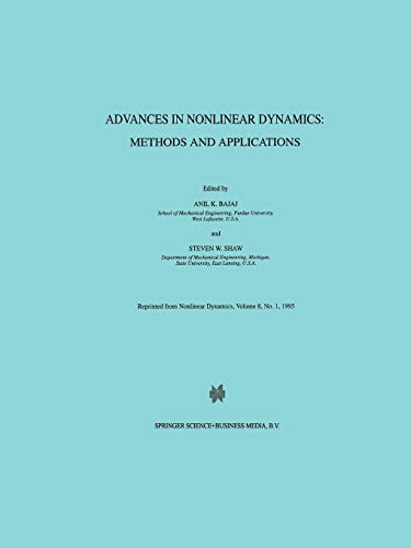 Advances in Nonlinear Dynamics: Methods and Applications: Springer