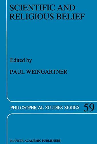 9789401043465: Scientific and Religious Belief (Philosophical Studies Series)