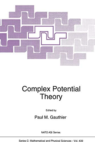 Complex Potential Theory (Nato Science Series C:): Springer