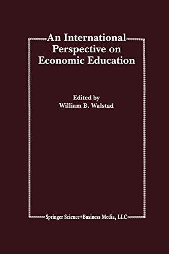 An International Perspective on Economic Education: Springer