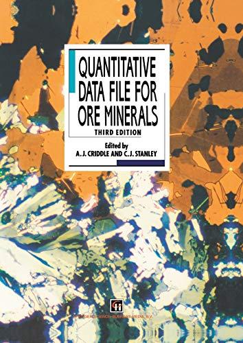 9789401046527: Quantitative Data File for Ore Minerals
