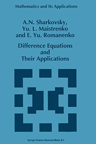 9789401047746: Difference Equations and Their Applications (Mathematics and Its Applications)