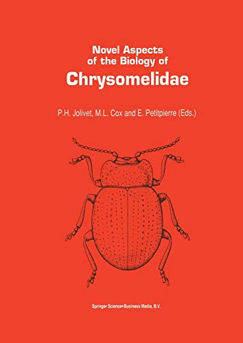 9789401047838: Novel aspects of the biology of Chrysomelidae (Series Entomologica)