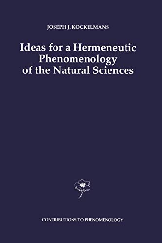 9789401048651: Ideas for a Hermeneutic Phenomenology of the Natural Sciences (Contributions To Phenomenology) (Volume 15)