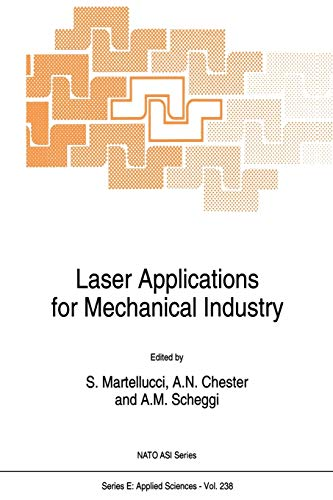 Laser Applications for Mechanical Industry (Nato Science Series E:): Springer