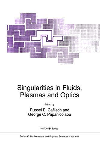 9789401048941: Singularities in Fluids, Plasmas and Optics (Nato Science Series C:)