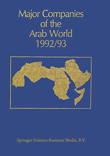 9789401049955: Major Companies of the Arab World 1992/93