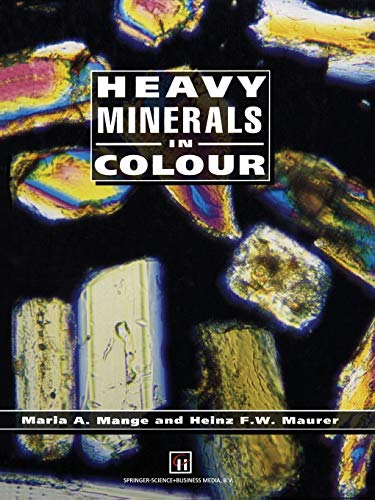 9789401050197: Heavy Minerals in Colour