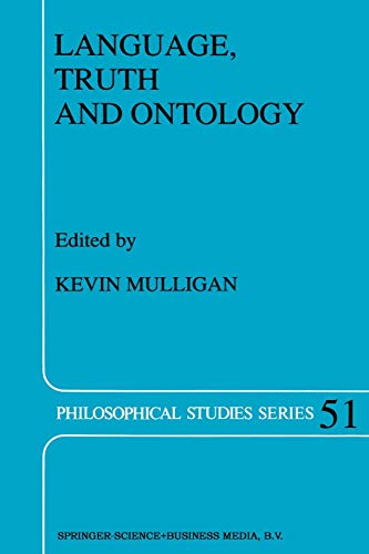 9789401051491: Language, Truth and Ontology (Philosophical Studies Series)