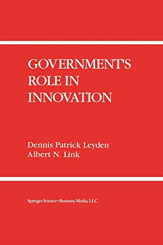 9789401053044: Government's Role in Innovation