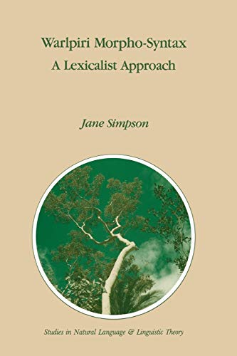 Warlpiri Morpho-syntax: Jane Helen Simpson