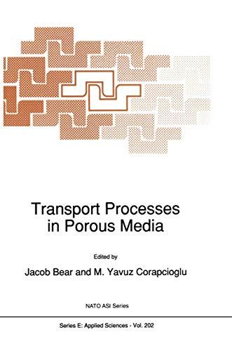 9789401056106: Transport Processes in Porous Media (Nato Science Series E:)