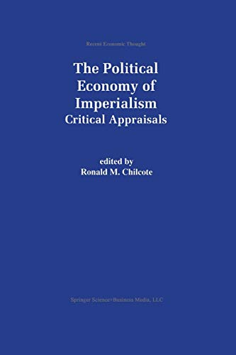 9789401058957: The Political Economy of Imperialism: Critical Appraisals (Recent Economic Thought)