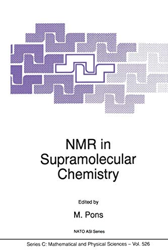 NMR in Supramolecular Chemistry Nato Science Series C