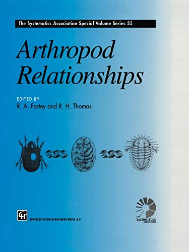 Arthropod Relationships The Systematics Association Special Volume Series Volume 55