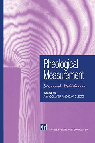9789401060707: Rheological Measurement