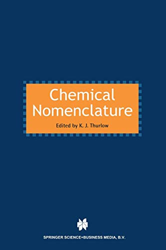 9789401060813: Chemical Nomenclature