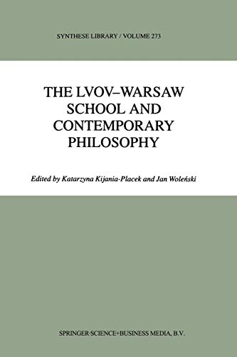 The Lvov-Warsaw School and Contemporary Philosophy (Paperback)
